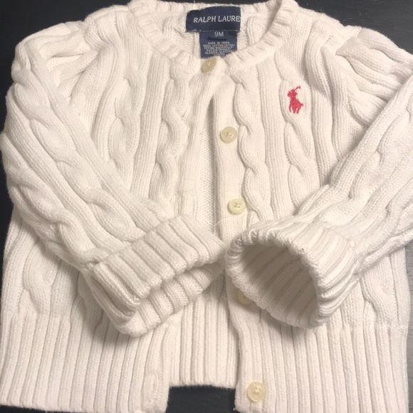 Polo by Ralph Lauren Other - Baby Girl Cord sweater button up